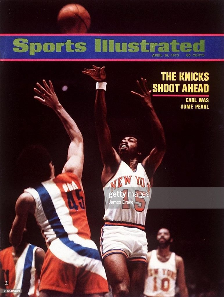 New York Knicks Earl Monroe 1973 NBA Eastern Conference