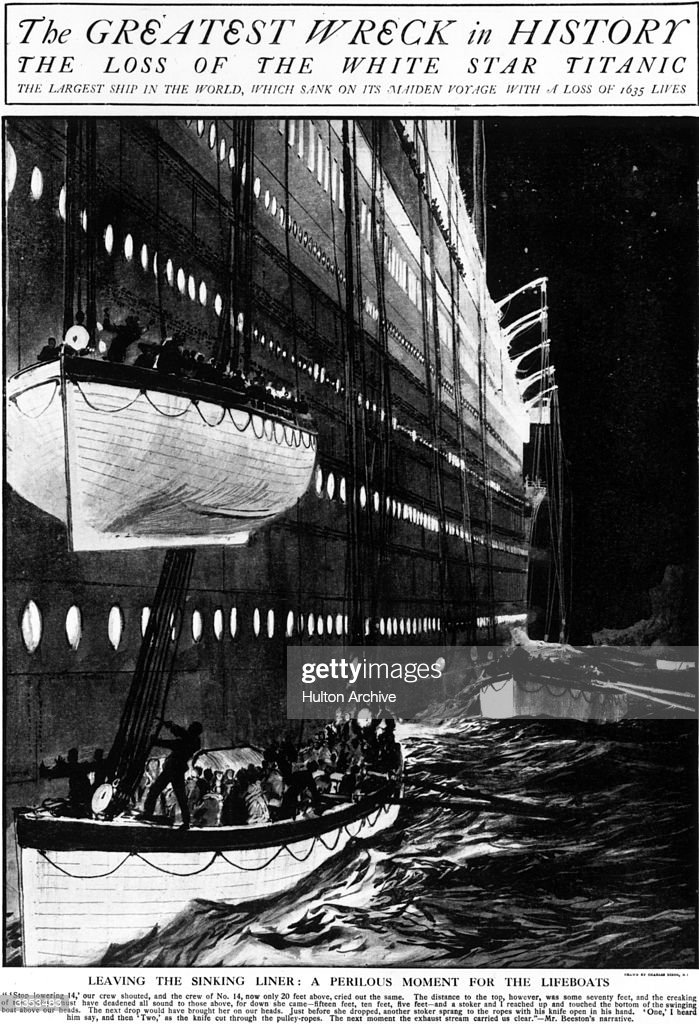 the sinking of titanic in 1912 and its effect on american society They had been assured that the titanic would sail smoothly as the best ship of its day, but instead the vessel went down, bearing the lives of almost two thousand people from that moment on, it was clear that this event would have a lasting effect on each individual.