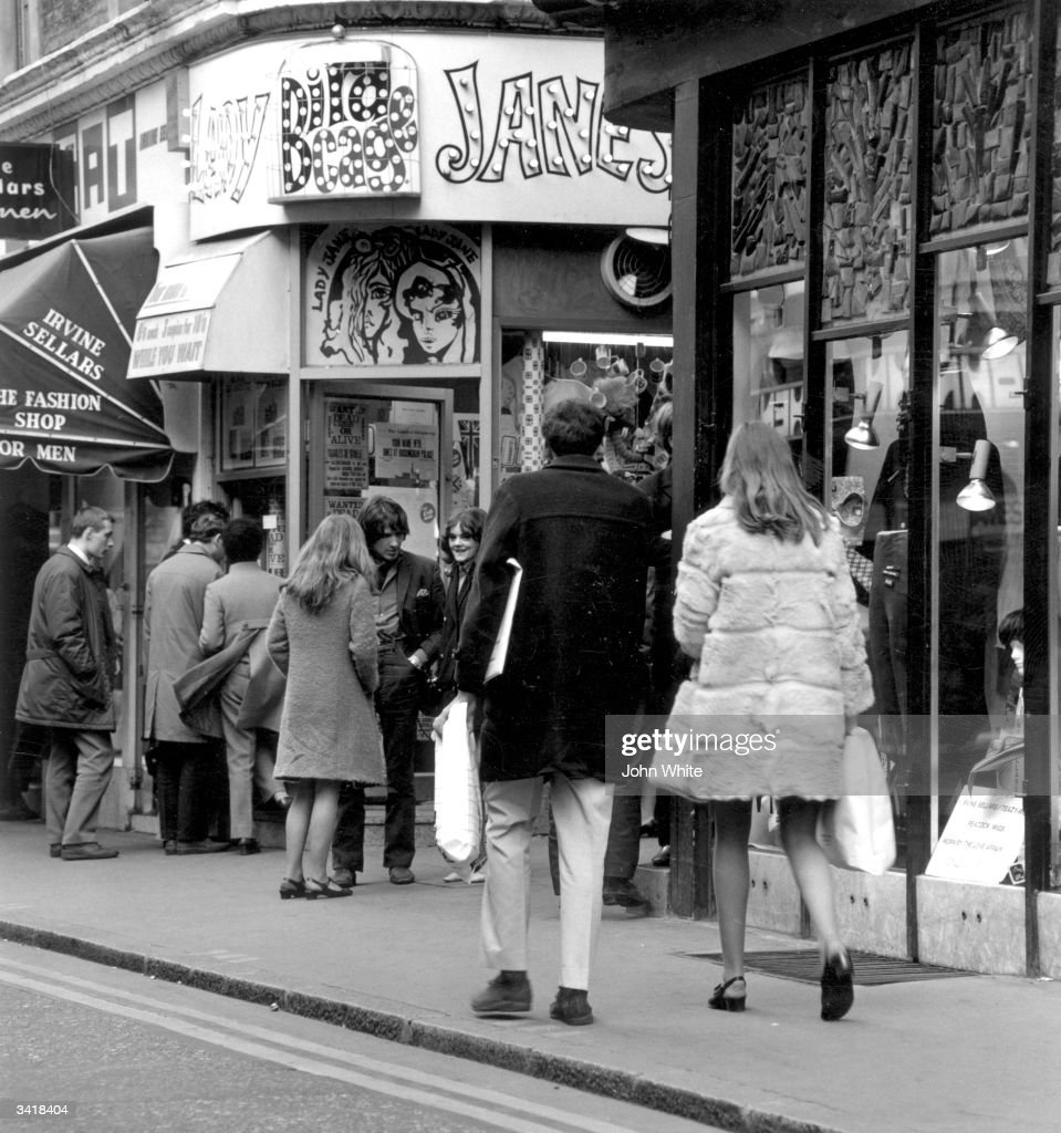 Shoppers at Carnaby Street, London.