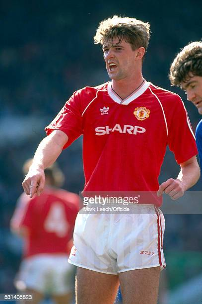 08 April 1990 FA Cup semi final Manchester United v Oldham Athletic United defender Gary Pallister