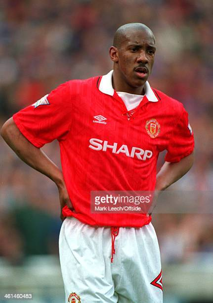 10 April 1994 FA Cup semifinal Manchester United v Oldham Athletic Dion Dublin of United