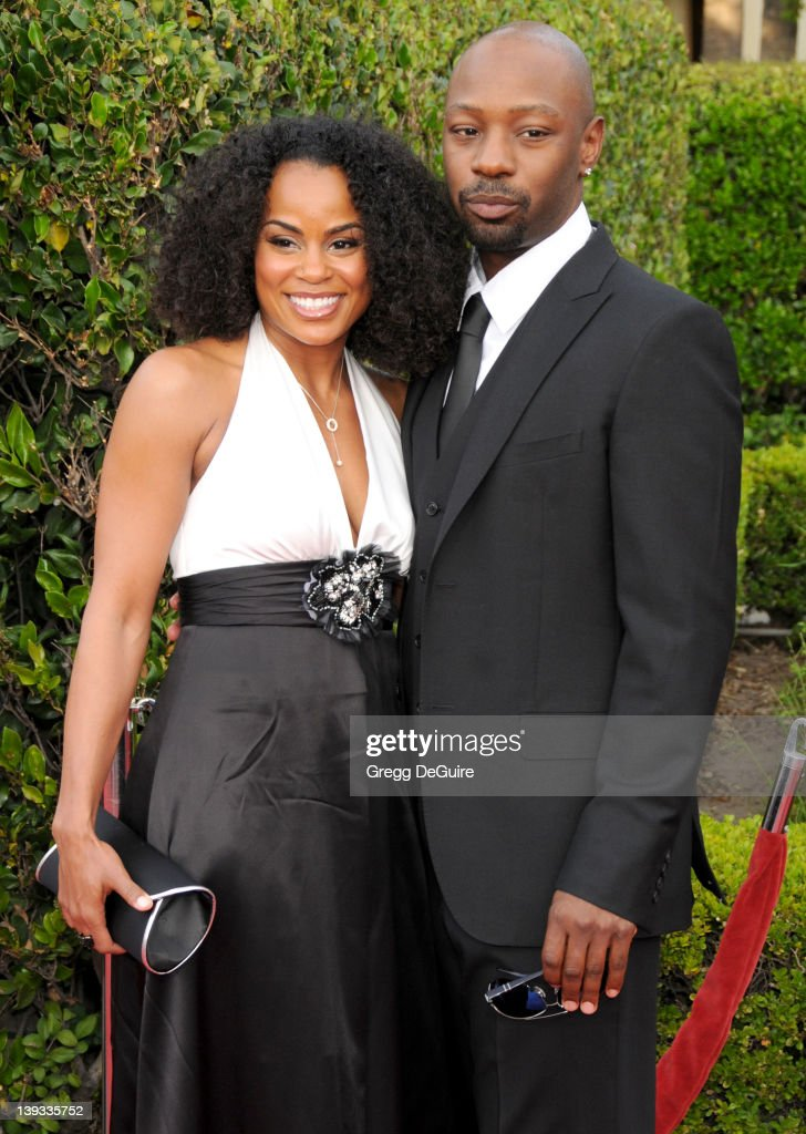 April 20 2009 Hollywood Ca Nelsan Ellis and girlfriend Tiffany 'The Soloist' Los Angeles Premiere Held at the Paramount Theatre