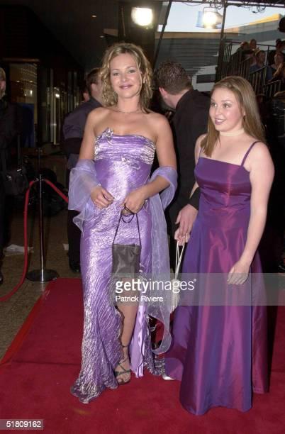 April 2000 Carla Bonner C Keltie at the TV Week Logies 2000 at the Crown Casino in Melbourne
