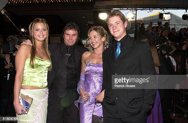 April 2000 Carla Bonner Shane Connor A Bibby at the TV Week Logies 2000 at the Crown Casino in Melbourne