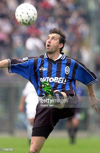 Maurizio Ganz of Atalanta in action during the Serie A 24th Round League match between Atalanta and Napoli played at the Azzurri D''Italia Stadium...