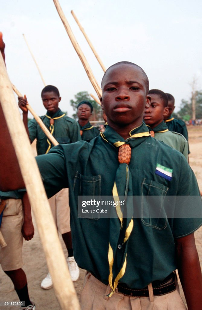 Sports day for local school kids Photo by Louise Gubb/Corbis SABA | Location Makeni Town Sierra Leone