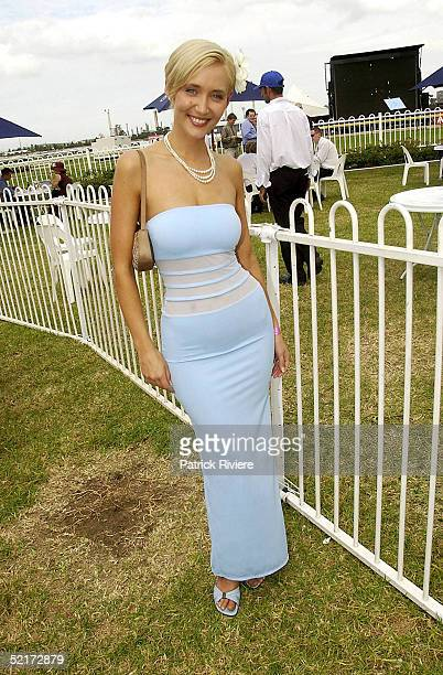 3 April 2004 Bessie Bardot at the Golden Slipper Racing Carnival held at Rosehill Gardens Racecourse Rosehill Sydney Australia