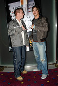 21 April 2004 PATRICK HARVEY and JAY BUNYAN arriving at the Melbourne premiere of the movie Kill Bill Vol 2 at the European Cinema Melbourne Victoria...