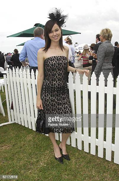 3 April 2004 Shae Brewster at the Golden Slipper Racing Carnival held at Rosehill Gardens Racecourse Rosehill Sydney Australia