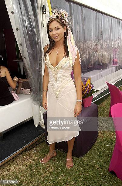 3 April 2004 Tania Zaetta at the Golden Slipper Racing Carnival held at Rosehill Gardens Racecourse Rosehill Sydney Australia