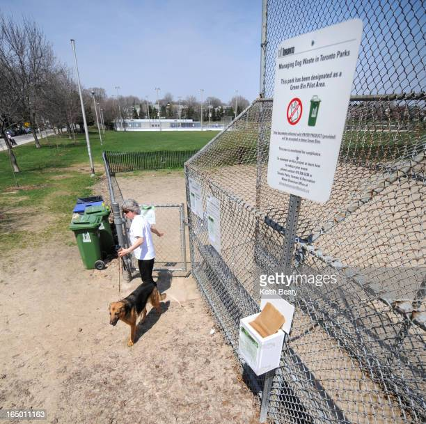 25 April 2009 Greenwood park is one of city parks which is part of green bin pilot project for dog waste Waste must be in paper bags rather than...