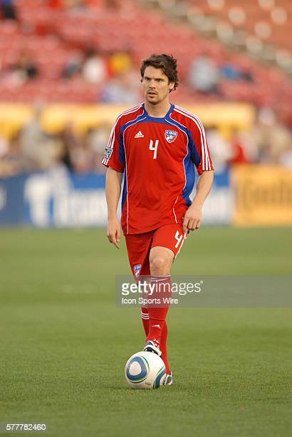 FC Dallas defender Heath Pearce during 2 2 draw with Columbus at Pizza Hut Park in Frisco TX