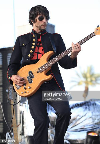Street Sweeper Social Club perform on the Coachella Stage during the first day of the Coachella Valley Music and Arts Festival held at the Empire...