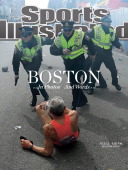 Track Field Boston Marathon Police officers draw their guns drawn after hearing the second bomb explosion at 250pm on Boylston Street The first...