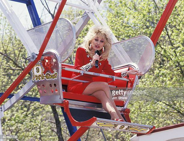 April 24 1993 file photo of Dolly Parton at the 8th Season Grand Opening Weekend held at Dollywood in Pigeon Forge TN