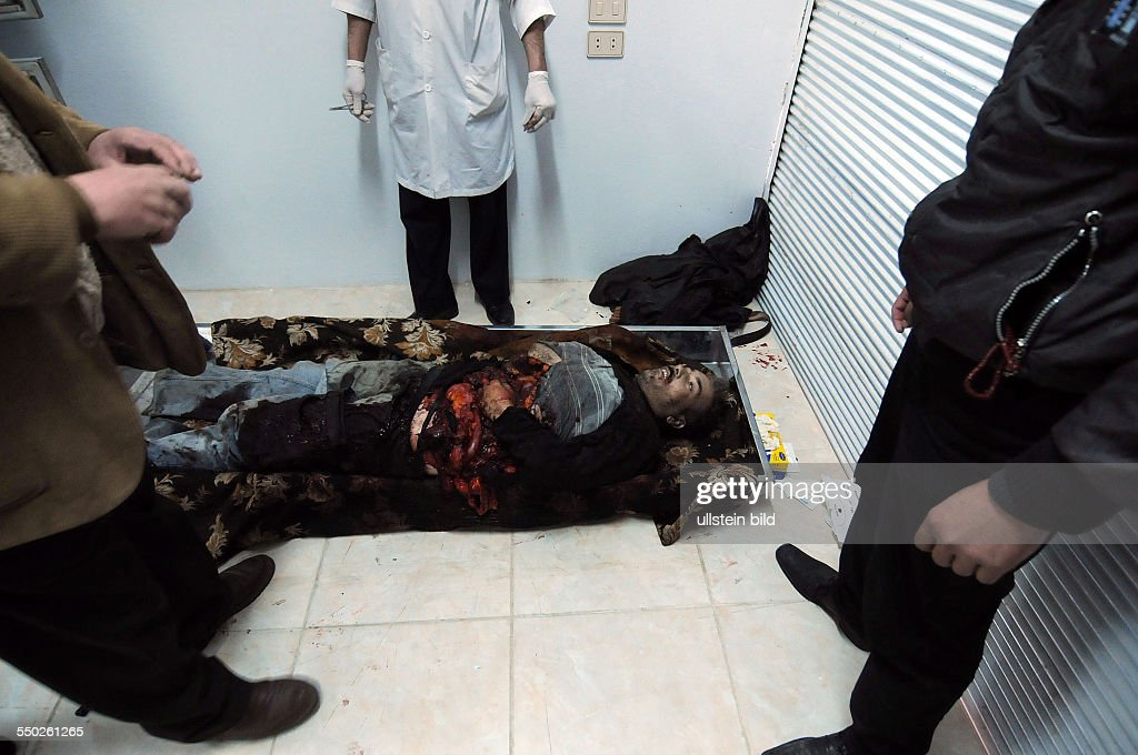 April 25 Yabrud Rif Dimashq Syria Government rockets landed inside a factory in Yabrud killing two workers and wounding another 5 Situated 80KM North...