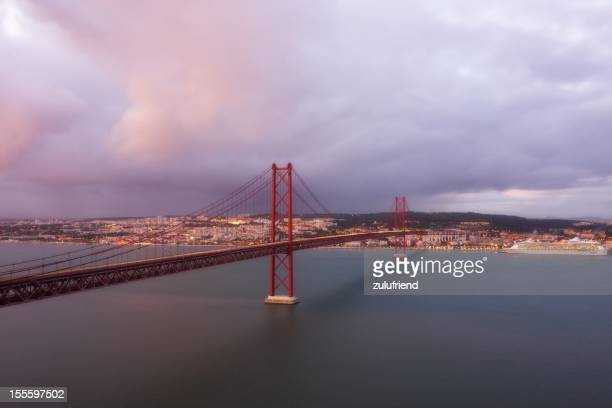 Ponte 25 de Abril, em Lisboa