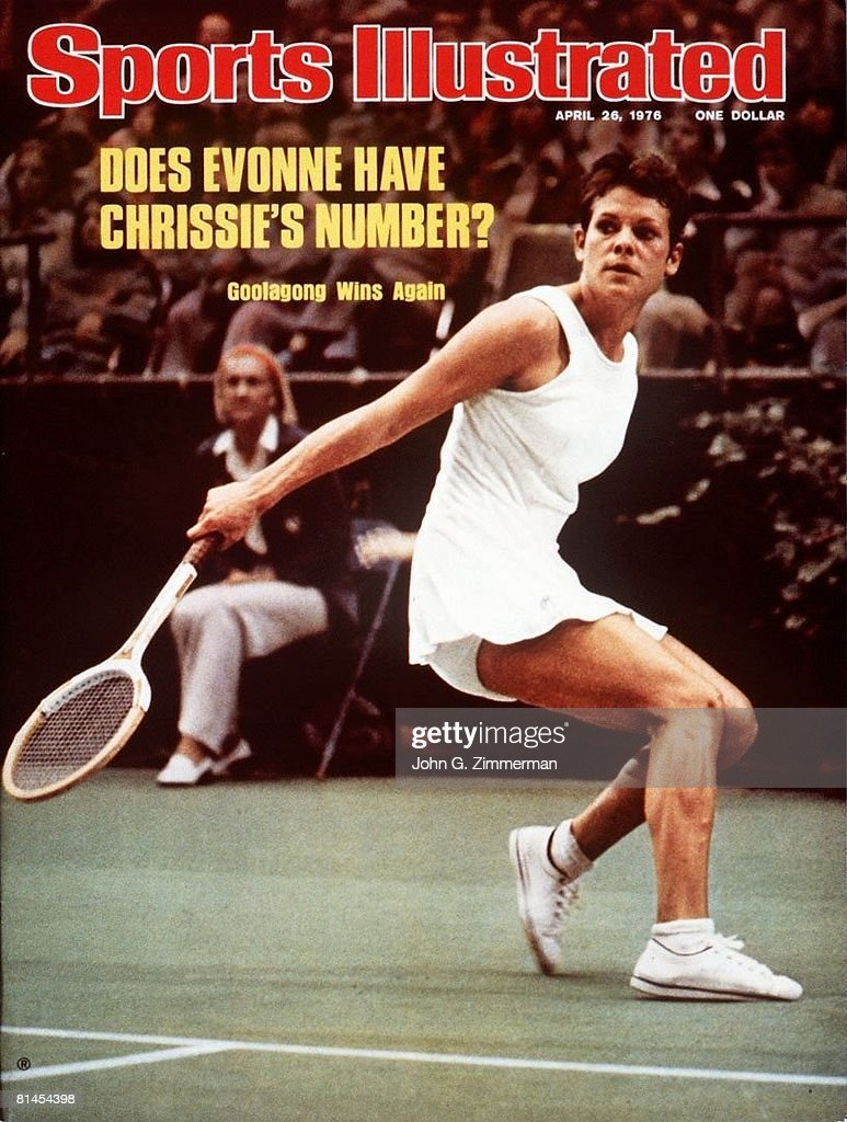 Australia Evonne Goolagong Cawley 1976 Virginia Slims