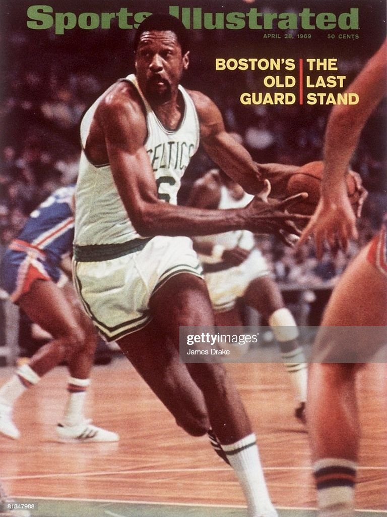 Boston Celtics Bill Russell 1969 NBA Eastern Division Finals