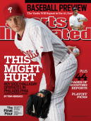 Baseball Portrait of Philadelphia Phillies pitcher Roy Halladay during spring training photo shoot at Bright House Field Clearwater FL 3/16/2010...