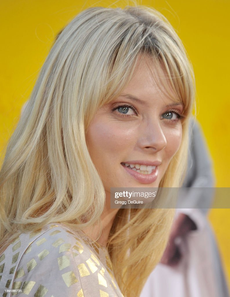 April bowlby arrives at the help world premiere at the samuel