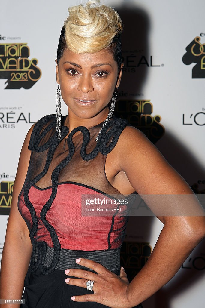 April Daniels attends the Soul Train Awards 2013 at the Orleans Arena on November 8, 2013 in Las Vegas, Nevada.