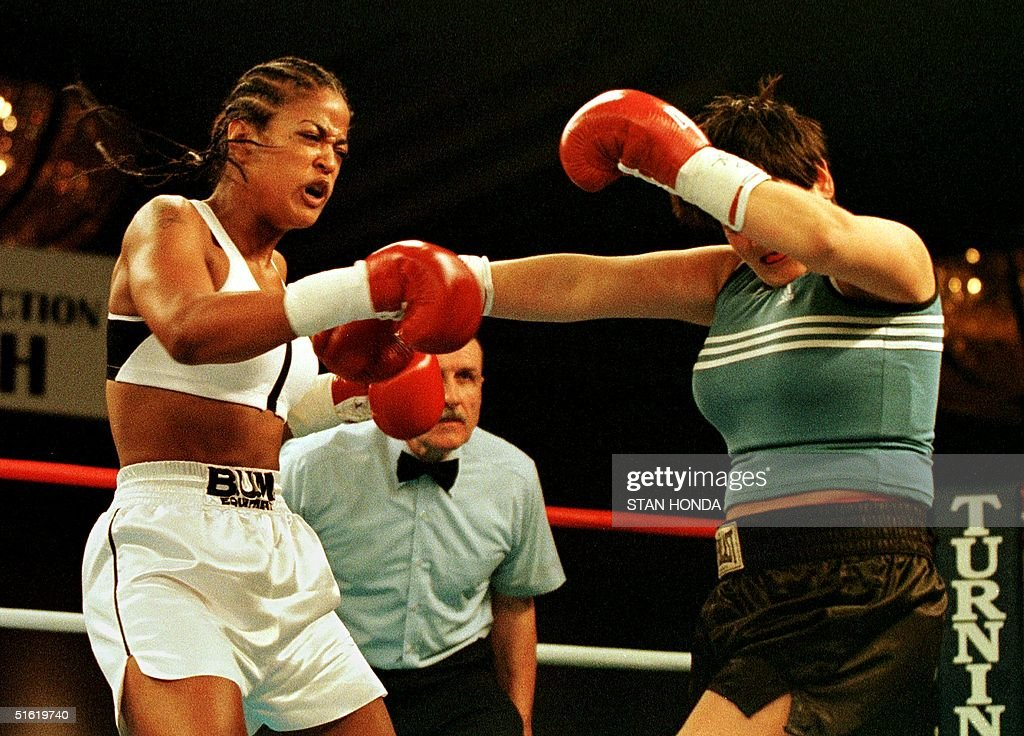 Laila Ali Boxer Getty Images