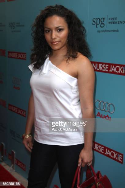 April Hernandez attends The World Premiere of SHOWTIME'S New Comedy Series NURSE JACKIE at Director's Guild of America on June 2 2009 in New York