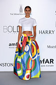 April Love Geary attends amfAR's 22nd Cinema Against AIDS Gala Presented By Bold Films And Harry Winston at Hotel du CapEdenRoc on May 21 2015 in Cap...