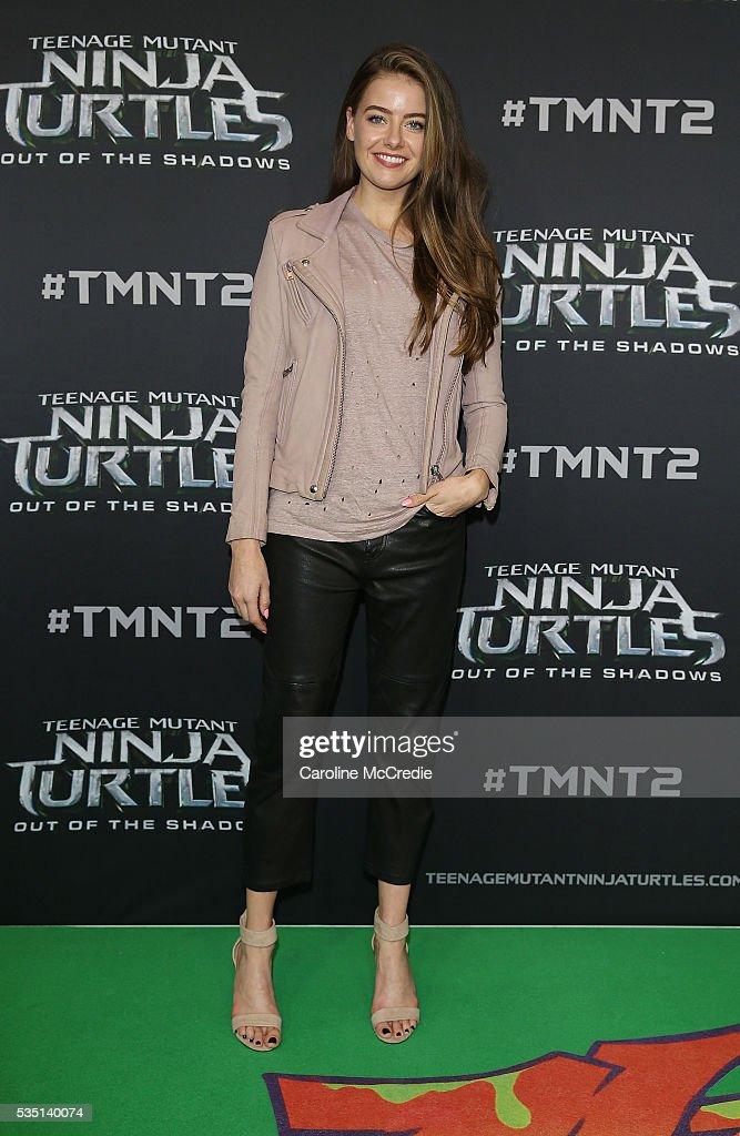 April Rose Pengilly arrives ahead of the Australian premiere of Teenage Mutant Ninja Turtles 2 at Event Cinemas George Street on May 29, 2016 in Sydney, Australia.