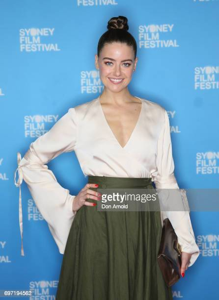 April Rose Pengilly arrives ahead of the Sydney Film Festival Closing Night Gala and Australian premiere of Okja at State Theatre on June 18 2017 in...