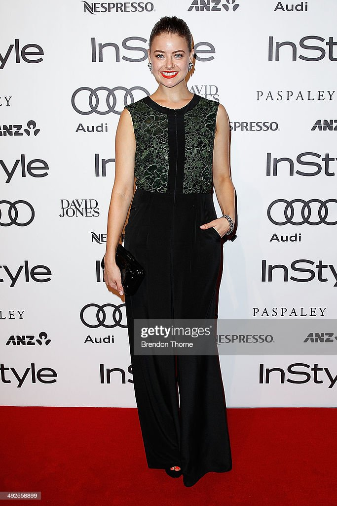 April Rose Pengilly arrives at the Instyle and Audi 'Women of Style' Awards on May 21 2014 in Sydney Australia