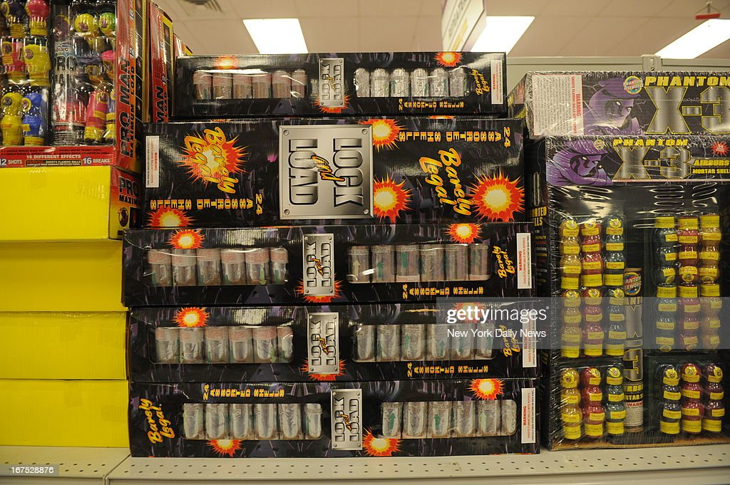 April Walton,manager of Phantom Fireworks store in Seabrook, New Hampshire, where Tamerlan Tsarnaev used a buy one, get one free coupon to buy two sets of $199.99 set of 'Lock and Load' mortars. Authorities say the 3 pounds of black power contained in the fireworks is enough for one of the bombs they made from pressure cookers.