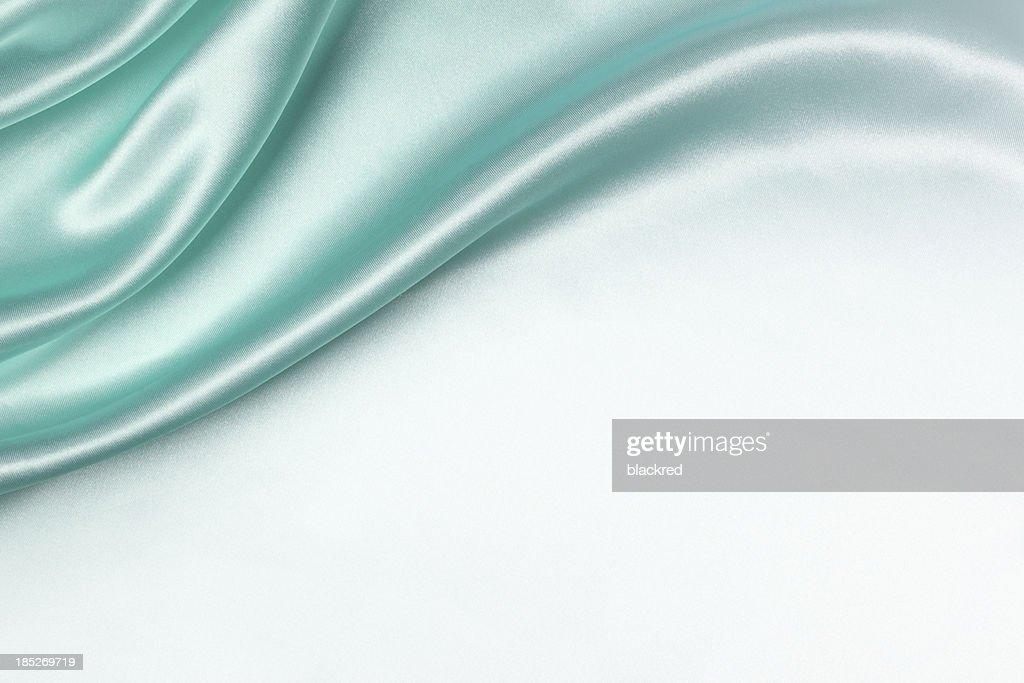 Aqua Silk Background