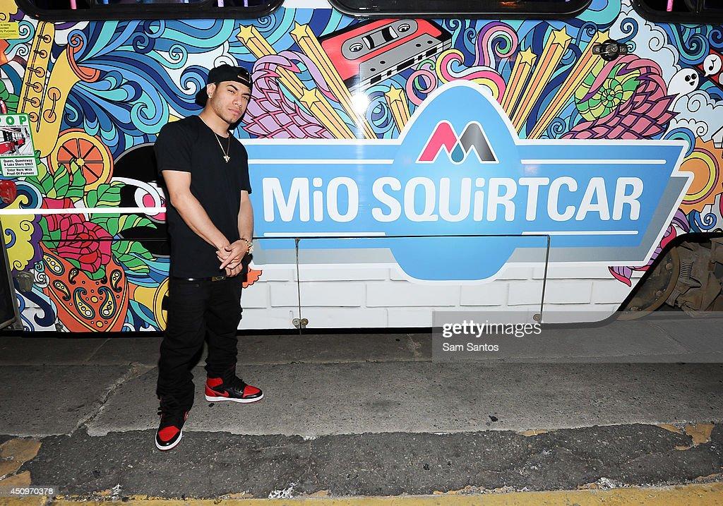 Araab Muzik attends the MiO Squirtcar - Day 3 on June 20, 2014 in Toronto, Canada.