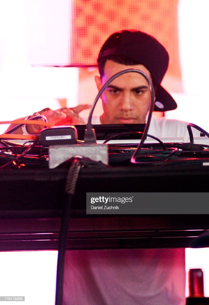 AraabMuzik performs during Electric Zoo 2013 at Randall's Island on August 31, 2013 in New York City.