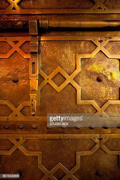 Arab art craft work door decoration