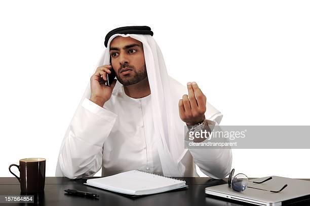 Arabe Homme d'affaires