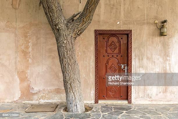 Arab house front door