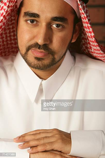 Arab Man looking at the camera