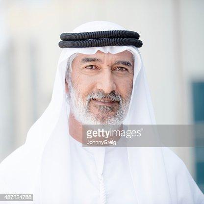 Arab man portrait
