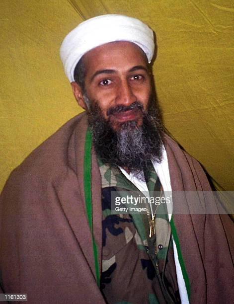 Arab militant Osama Bin Laden poses for this undated photo A US official and experts have identified Bin Laden as the possible mastermind in the...