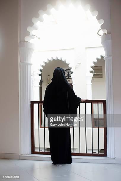 Arab woman wearing Abaya