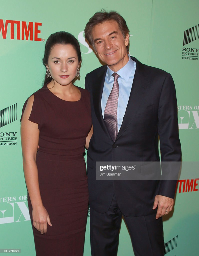 Arabella Oz and Dr. Oz attend 'Masters Of Sex' New York Series Premiere at The Morgan Library & Museum on September 26, 2013 in New York City.