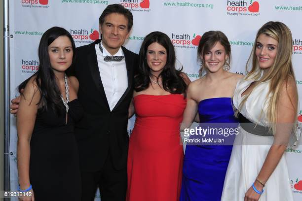 Arabella Oz Dr Mehmet Oz Lisa Oz Zoe Oz and Daphne Oz attend Dr OZ's HEALTHCORPS Announces Gala to Raise Funds to Fight Child Obesity at Pier 60 on...