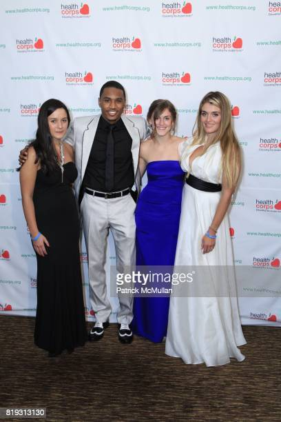 Arabella Oz Trey Songz Zoe Oz and Daphne Oz attend Dr OZ's HEALTHCORPS Announces Gala to Raise Funds to Fight Child Obesity at Pier 60 on April 21...