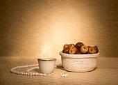 Arabian coffee with dates