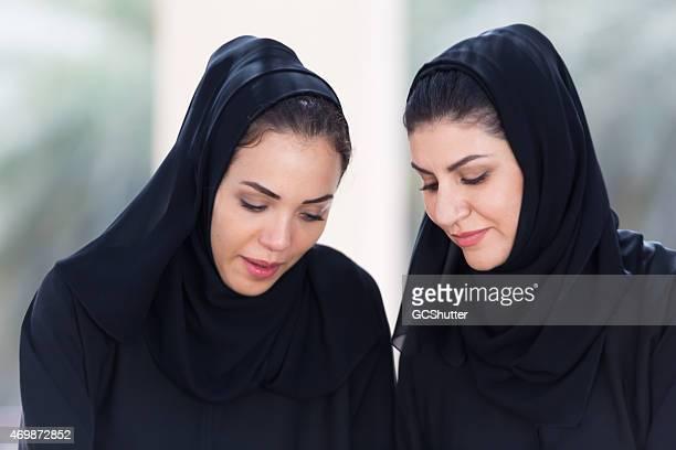 Arabic Business Women in conversation