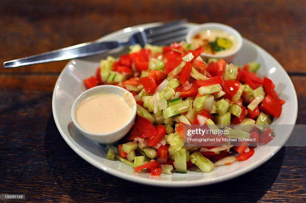 Arabic Salad : Stock Photo