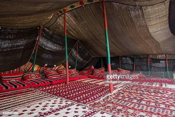 Arabic tent interior